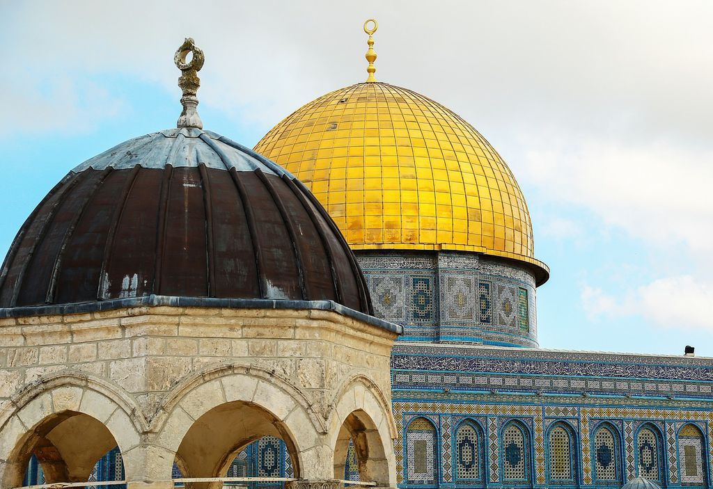 Jerusalem Dome Of The Rock in Jerusalem