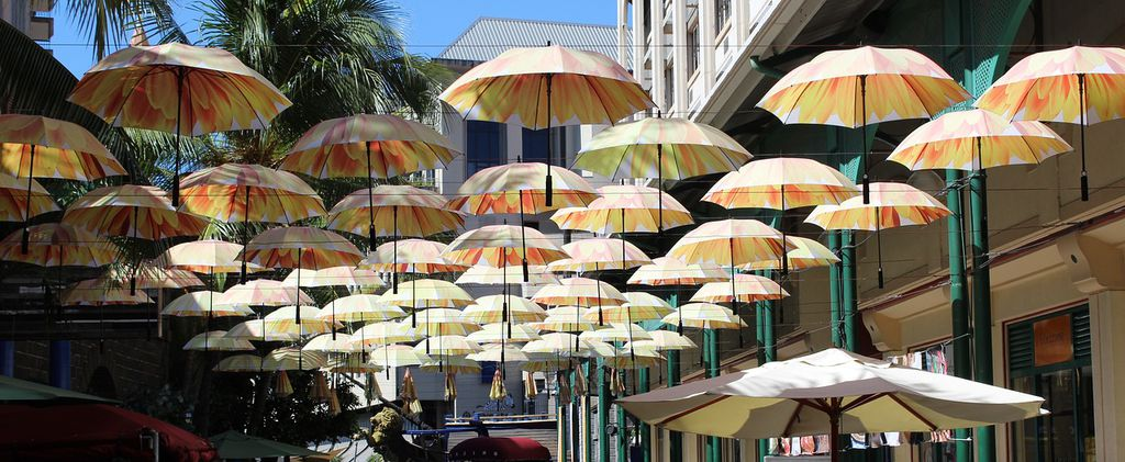 Port Louis' Parasols